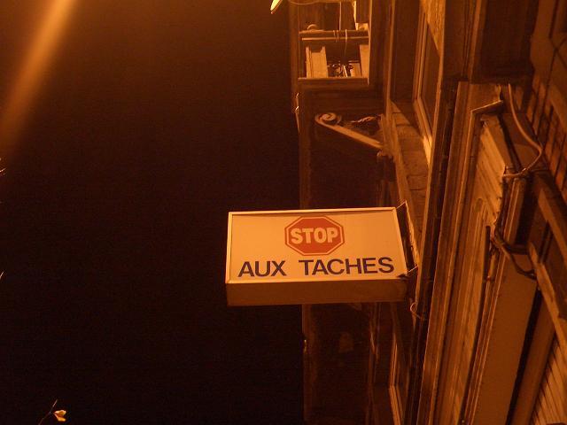 December 06 Stop aux taches