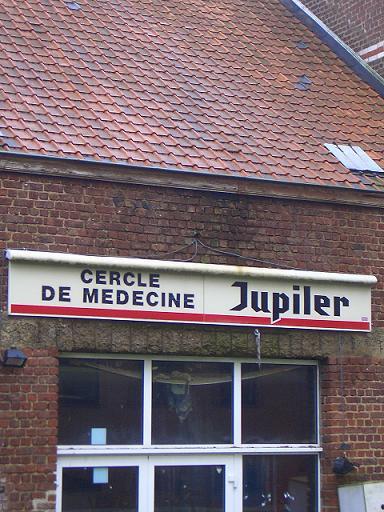 Cercle des médecins Jupiler ONLY IN BELGIUM