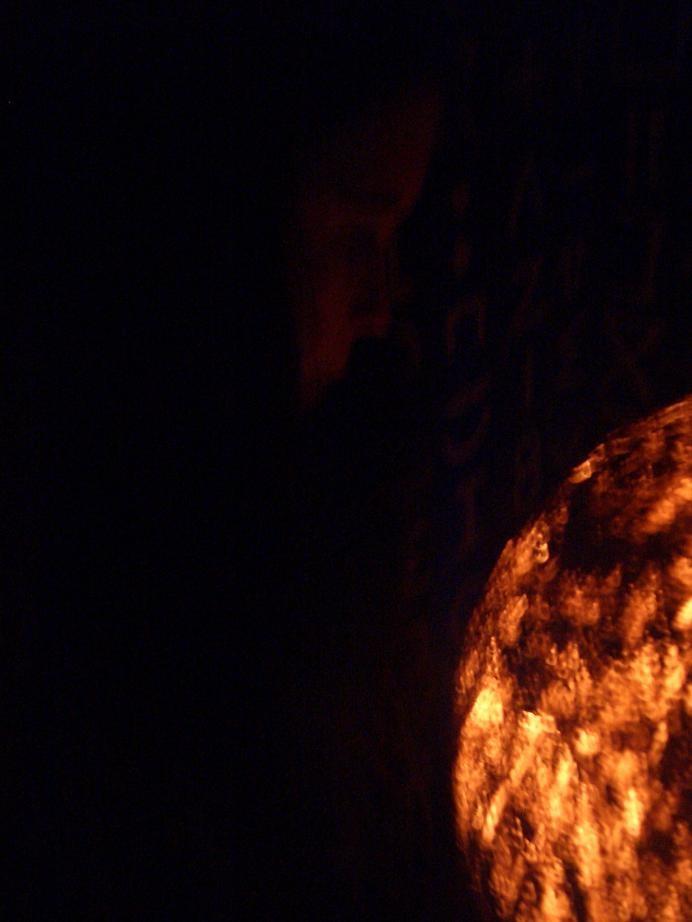 autoportrait au feu