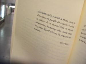 Goethe dans Cocteau Juin 07
