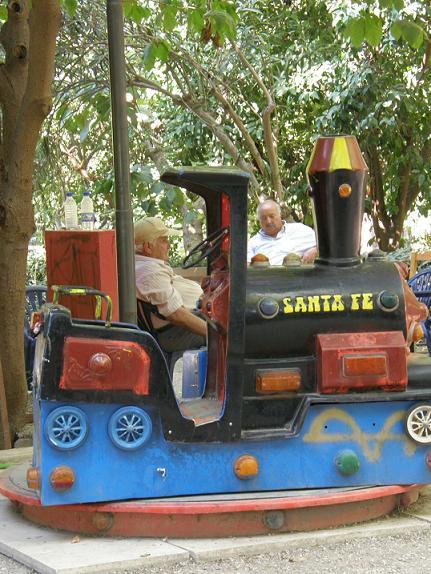 Le conducteur de petit frain fantôme vers Santa Fé (Août 07)