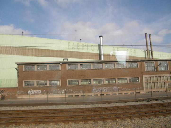 dans un train, des lignes... Feb 08