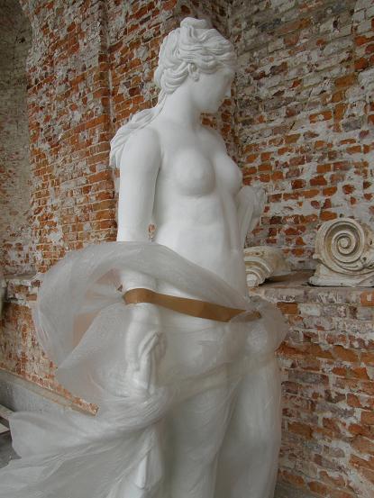 Grâce volupté et petites pépés de marbre RECTO - Seneffe - Avril 08