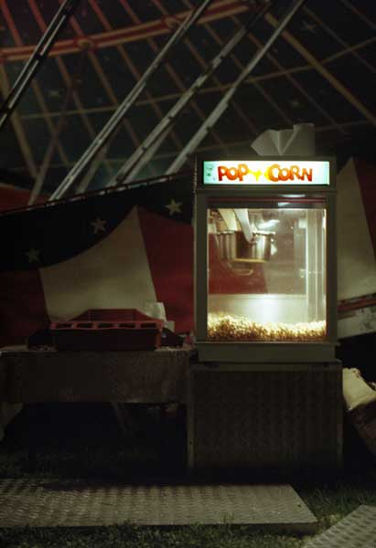 Gemma Plested Popcorn-machine