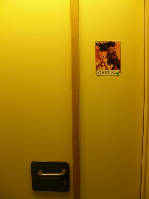 le mystère de la porte jaune - Cassius est né le 25 juin 08