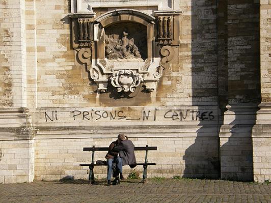 Ni prisons, ni centres, juste un baiser - 27 oct 08
