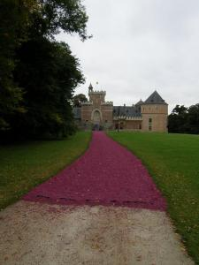 arrivée chateau de gaasbeek - 8 oct 08