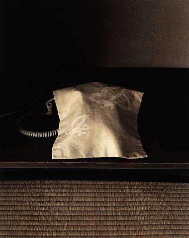 Evelyn Hofer my telephone in the tawaraya Inn Kyoto Japan 1985