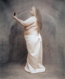 Joyce Tenneson carol & mirror