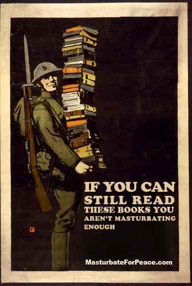 masturbate for peace