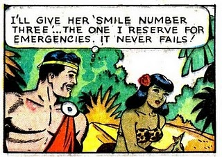 i'll give her a smile