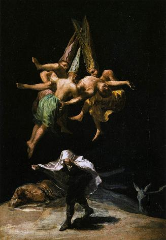 Francisco de GOYA Witches in the air