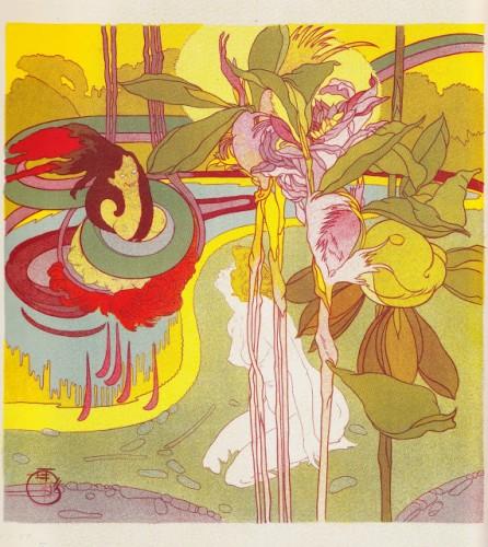 Georges de Feure. Dans le rêve, 1897.jpg