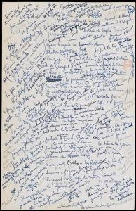 Brouillons d'écrivains Georges Bataille, Les Larmes d'Éros.jpg