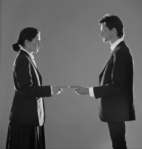Marina Abramovic and Ulay. That Self–Point of Contact. 1980.jpg