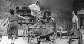 A scene from Dancing at Lughnasa at the Abbey Theatre by Fergus Bourke II