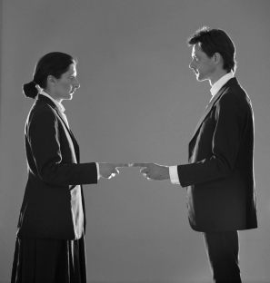 Marina Abramovic and Ulay. That Self–Point of Contact. 1980