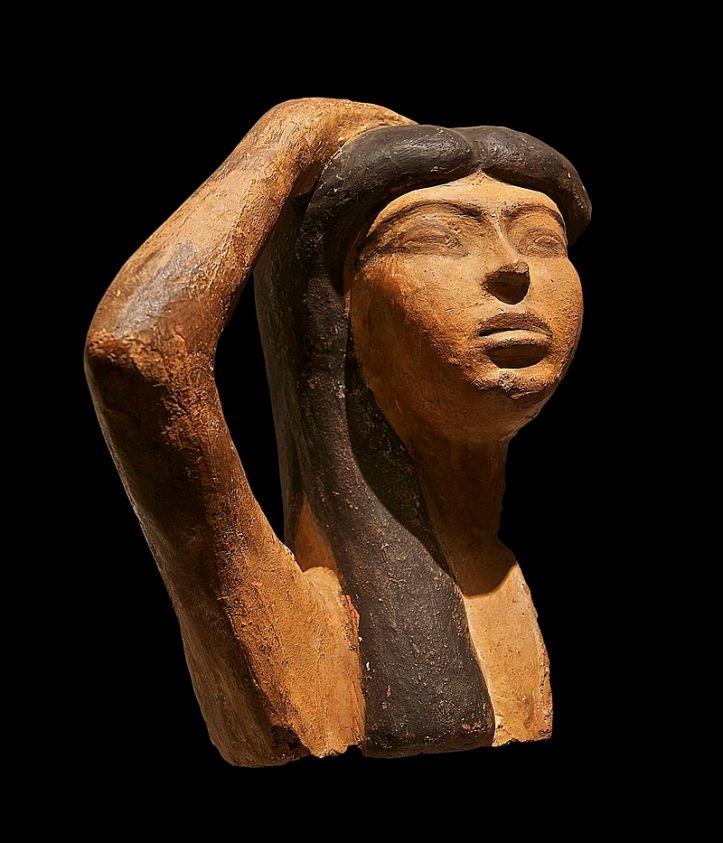 Terre_cuite_pleureuse_Louvre Egypte